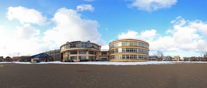 旧絵鞆小学校(室蘭市)のパノラマVRを制作致しました。