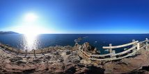 積丹半島と神威岬