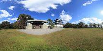 福山(松前)城と寺町